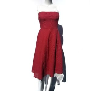 J. Crew | Coral Strapless Party Dress size P4 4